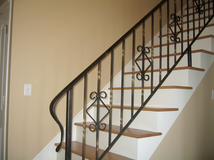 wrought iron railing 6