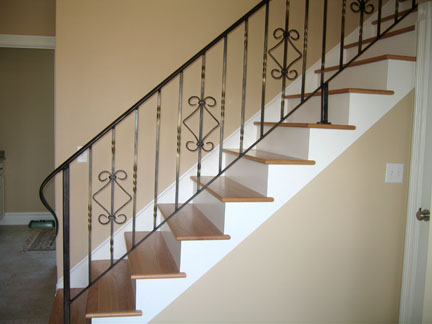 wrought iron railing 71